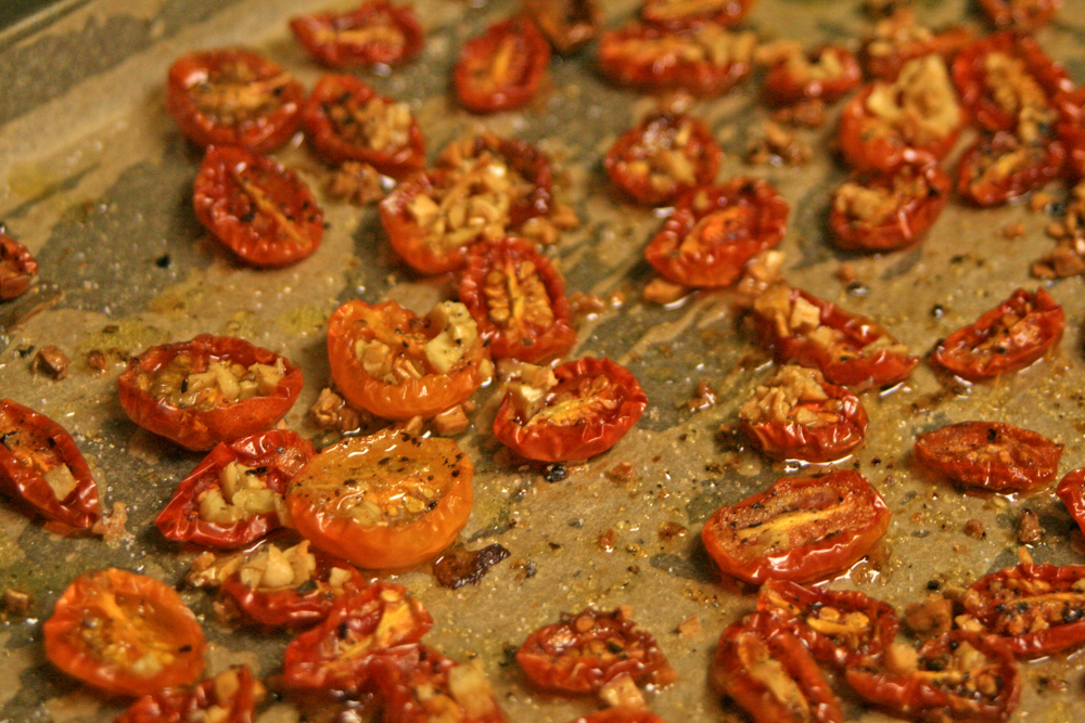 Recipe: Oven-Roasted Tomatoes - What Dress Code?