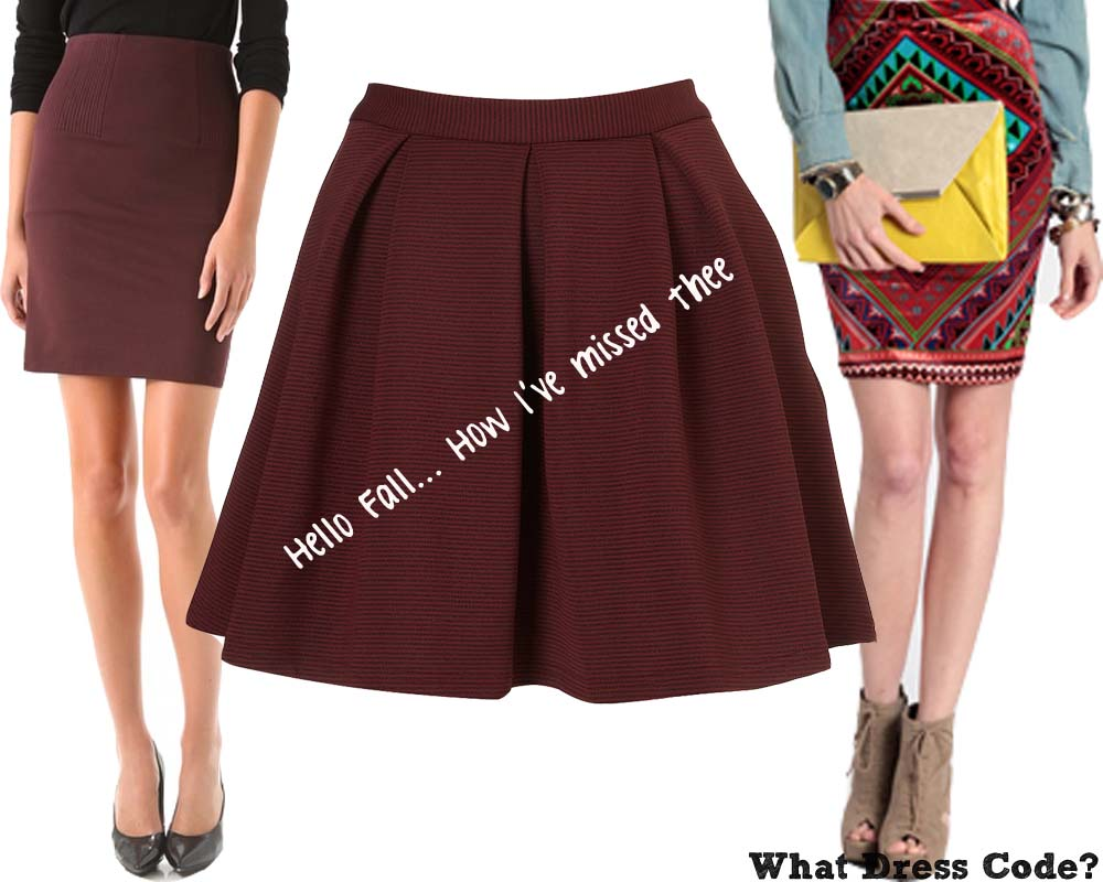 What to wear with black lace skater skirt